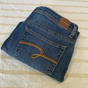 Justice Rolled Jeans